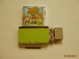 Nintendo New 3ds xl   (Lime  Green) w Animal Crossing & More!!! - $264.99