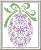 Garden's Egg cross stitch chart Alessandra Adelaide Needleworks - $16.00
