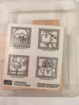 Country Collection Stampin Up Rubber Stamps Unmounted Scrapbooking Craft... - $12.23