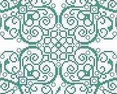 Clover st patricks day luck cross stitch chart Alessandra Adelaide Needleworks