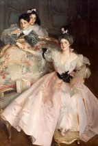 100% Hand Painted Oil on Canvas - Sargent - Mrs Carl Meyer and her Child... - $226.71