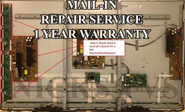 Mail-in Repair Service Y-sus/Buffer Boards 60PB6650 1 YEAR WARRANTY - $139.95