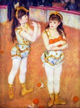 100% Hand Painted Oil on Canvas - The circus Fernando by Renoir - 30x40 Inch - $404.91
