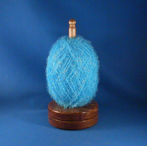 Select Butternut Yarn / Thread Holder - Speciality Lacquer Finish - $37.50