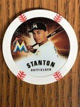 GIANCARLO STANTON MIKE☇⚾ 2013 MLB CHIPZ TOPPS POKER STYLE CHIP MARLINS C... - $3.95