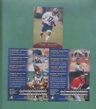 1995 Pinnacle St. Louis Rams Football Set - $2.00