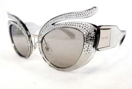 MIU MIU Women's Sunglasses MU04TS 54Z139 Transparent 53-23-140 MADE IN I... - $239.95