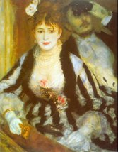 100% Hand Painted Oil on Canvas - Theatre Box by Renoir - 30x40 Inch - $404.91