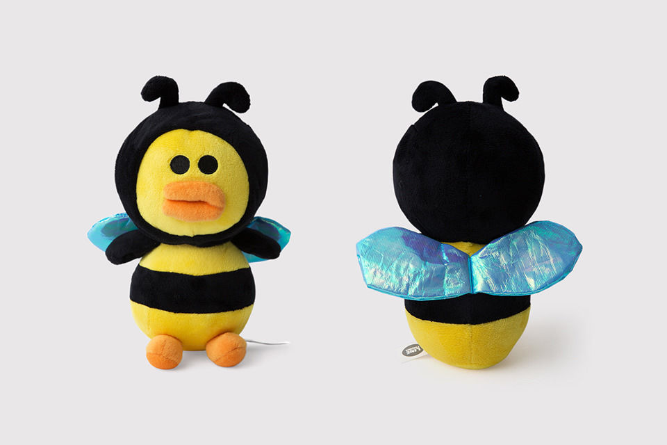 LINE Friends Rangers HONEY SALLY Stuffed Plush Doll Cuddle Toy Game Character