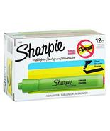 Sharpie Tank Style Highlighters, Chisel Tip, Fluorescent Green, 12 Count - $9.79
