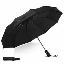 Umbrella,JUKSTG 10 Ribs Auto Open/Close Windproof Umbrella, Waterproof T... - $36.91