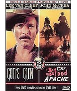 God's Gun/Cry Blood Apache (DVD, 2008)  Lee Van Cleef, Jack Palance - $1.95