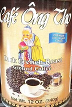 12oz Café Ong Tho Dark French Roast Ground Coffee, Pack of 1 - $19.79