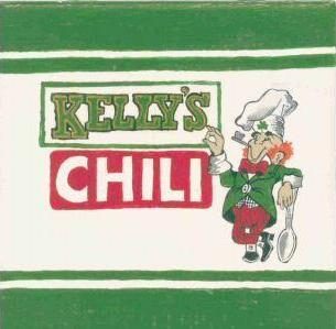 Kelly's Chili hand painted decorative tile by Tennessee arti