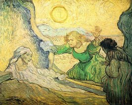 100% Hand Painted Oil on Canvas - Resurrection of Lazarus by Van Gogh - ... - $315.81