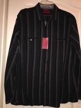 Men's Alfani Long Sleeve Button Down Shirt Size xL - $35.00