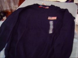 Focus America Navy Blue Sweater Size Small - $20.00