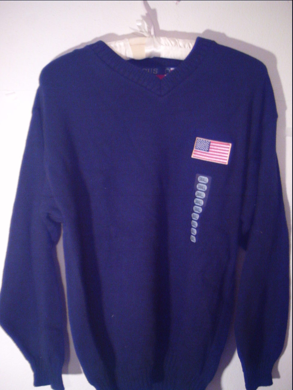 Focus America Navy Blue Sweater Size Small