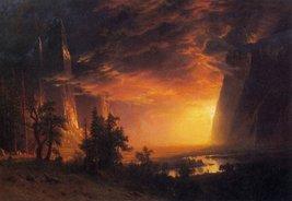 Roshni Arts - Famous Masterpieces 100% Hand Painted Oil on Canvas - Sunrise ... - $315.81