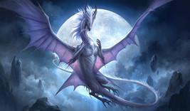 Powerful Dragon Companion Iria Passage Between Worlds and Realms  Spellcast Bead - $35.00