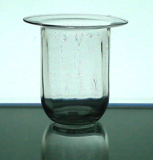 Hanging candle holder beveled with flat rim 4 x 4 candle for Flat candle holders