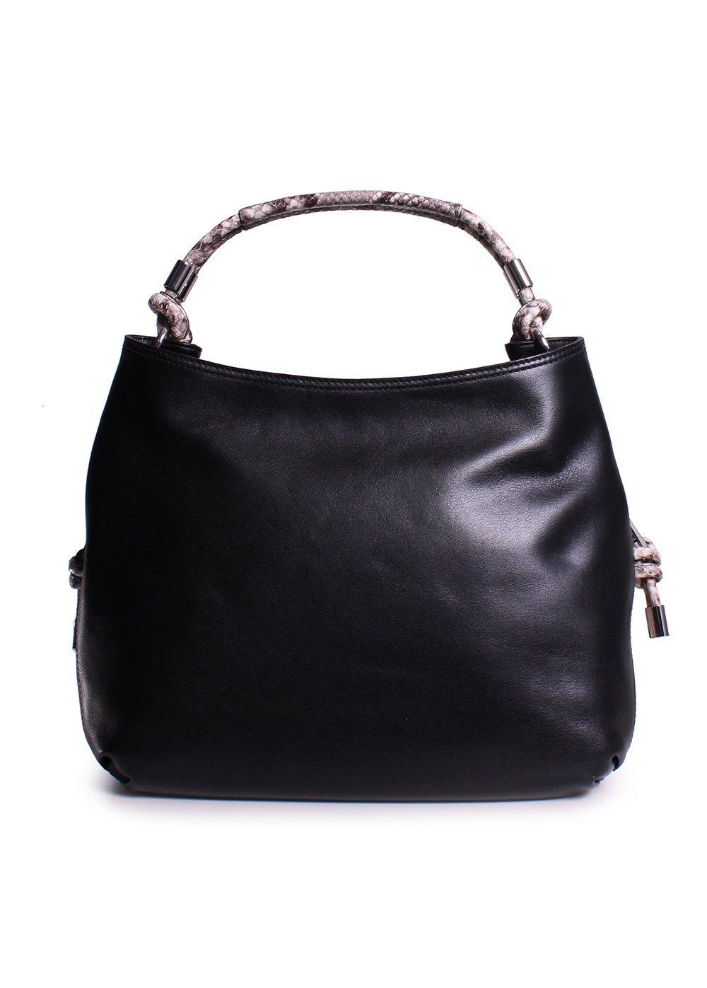 27e6c62216f0 ... Michael Kors Isabel Large Convertible Shoulder Bag in Black ...