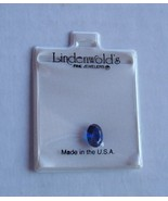 Lindenwold's Fine Jewelrs Oval  Blue Sapphire Loose Gemstone Simulated - $8.90