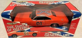 ERTL American Muscle The Dukes Of Hazzard General Lee 1969 Charger 1:18 ... - $99.56