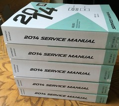 2014 GM Chevy Express GMC Savana Service Shop Repair Workshop Manual Set... - $514.71