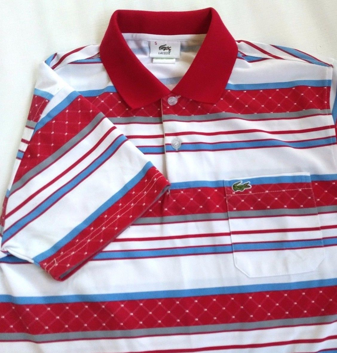 78c9c83b Nwot Lacoste Made In France Mens Horizontal and 48 similar items