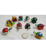Lot of 10 Assorted Bobble Head Turtles Various ... - $23.26
