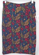 LuLaRoe Cassie Skirt MEDIUM in Multi Color Abstract Floral    NWT - $36.17