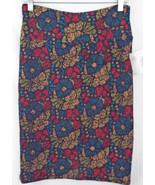 LuLaRoe Cassie Skirt MEDIUM in Multi Color Abst... - $40.01