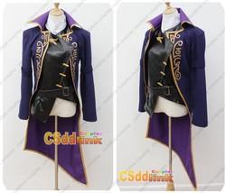 Dishonored 2 Emily Cosplay Costume black & purple - $84.14+