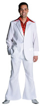 "70's Deluxe WHITE  Pimp / Disco Suit , sizes 38-50"" chest  - $47.24+"