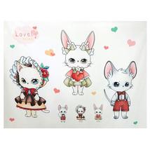 LovelyTrio Cotton Fabric Quilting Crafts Primar... - $16.07