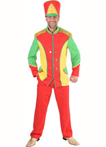 Colorful Toy Soldier /Circus Jacket / Male Majorette Dance Jacket   S-XXL - $45.84+