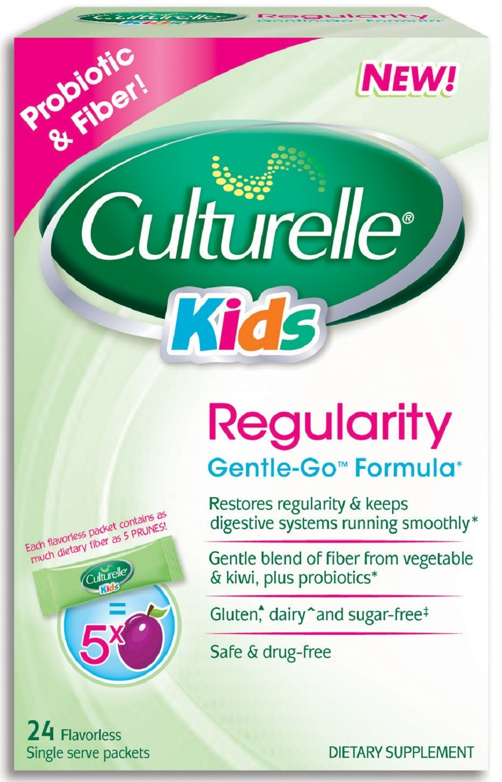 Primary image for Culturelle Kids Regularity Supplements, 24 Count