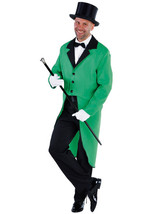 GREEN  Tailcoat -  St Patrick's Show Jacket  - Gents - $34.39