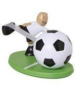 Scotch Magic Tape Dispenser Soccer Player New - $9.36