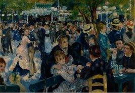 100% Hand Painted Oil on Canvas - Renoir - Dance at le Moulin de la Galette -... - $404.91