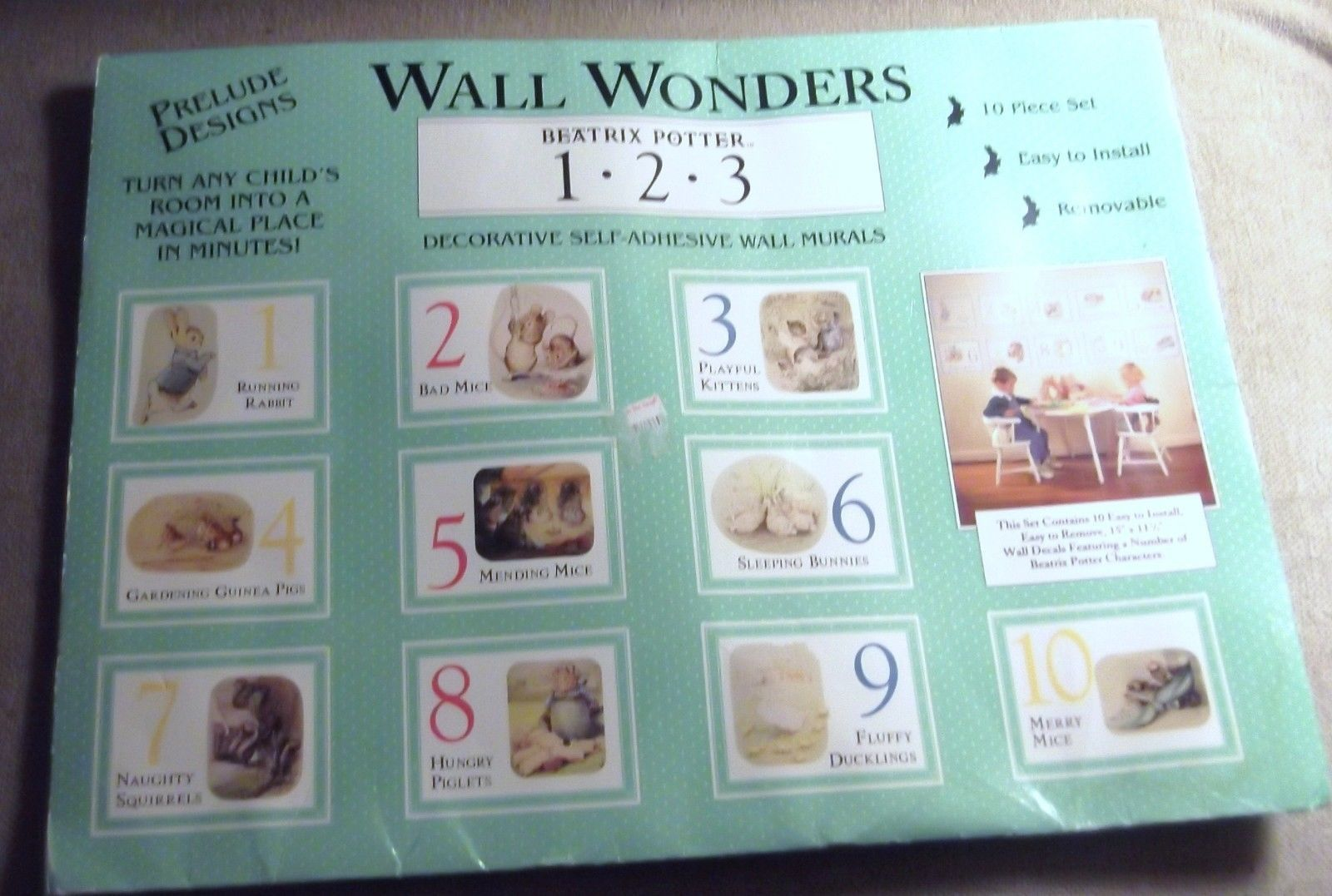 Primary image for Wall Wonders Beatrix Potter 1.2.3.