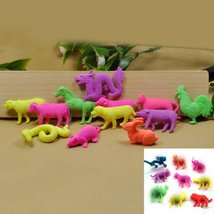 Growing Animal Toys Water Expansion Toy Colorful Creative Kids Toys - 10pcs w... image 2