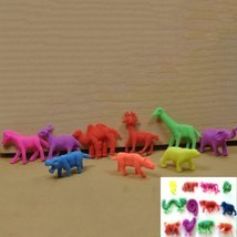 Growing Animal Toys Water Expansion Toy Colorful Creative Kids Toys - 10pcs w... image 3
