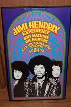 JIMI HENDRIX Experience Soft Machine The Paupers C.N.E. Coliseum Arena T... - $142.49