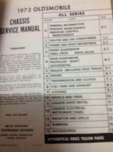 1973 Oldsmobile F85 CUTLASS 442 VISTA DELTA TORNADO 88 Service Shop Manual OEM image 7