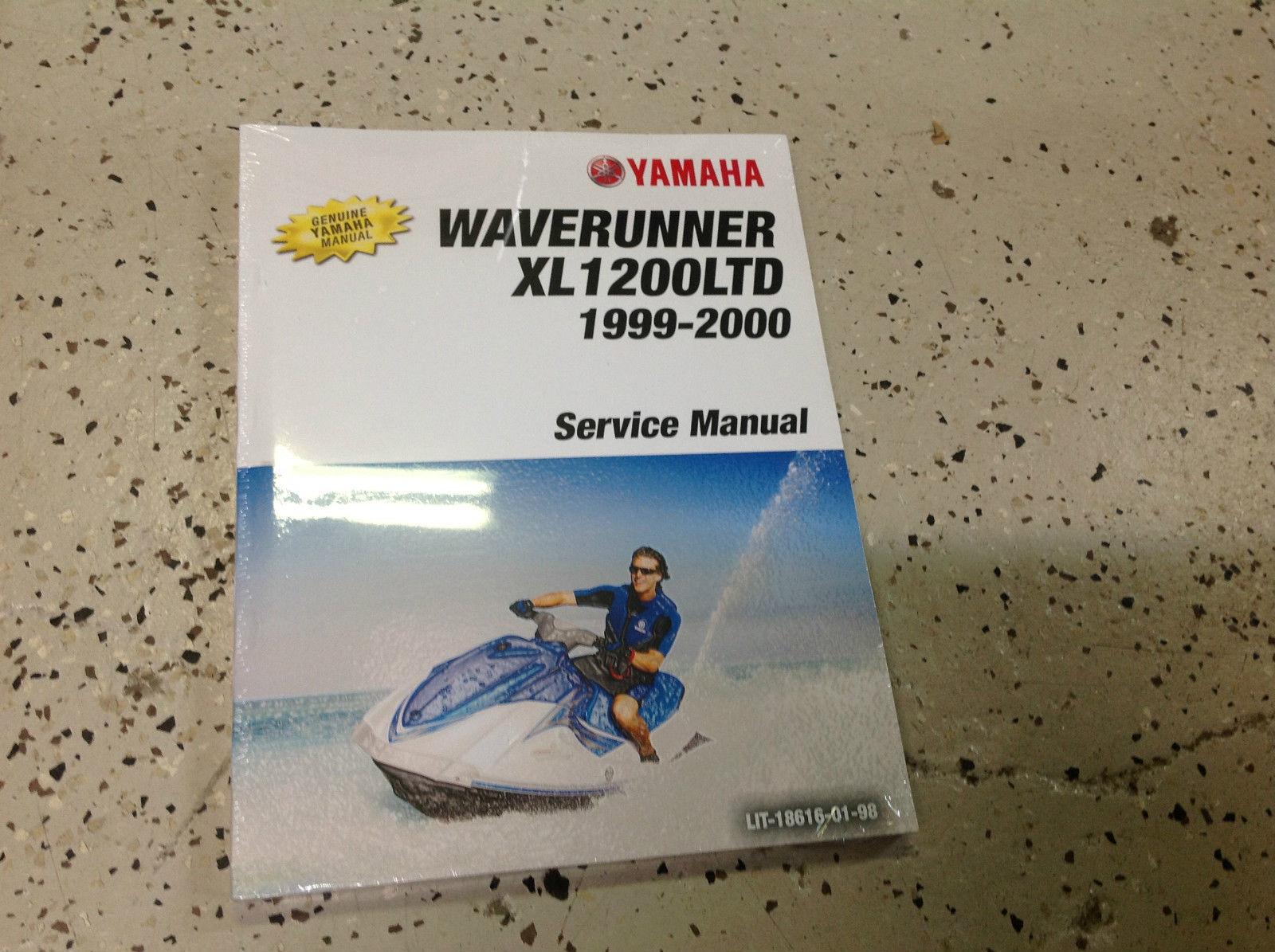 1999 2000 YAMAHA WAVERUNNER XL1200 Ltd Service Repair Shop Manual BRAND NEW  X