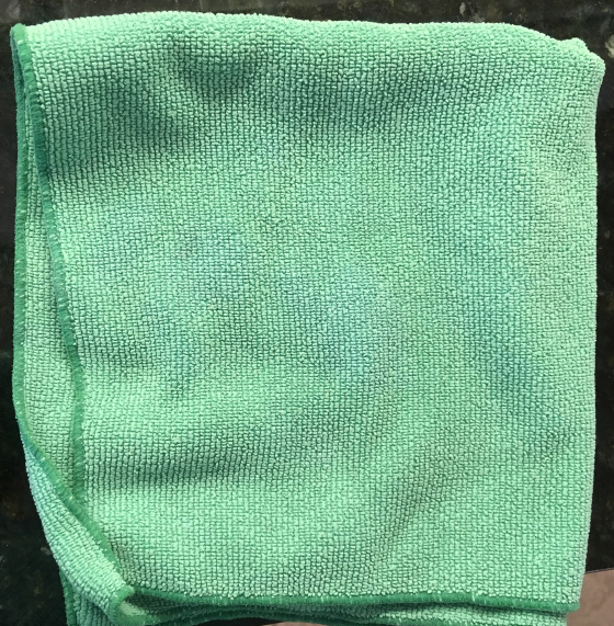 Microfiber Dust Cleaning Cloths Package of 3 Green Dusting Cleaners Dust Cloths