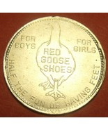 Red Goose Shoes Premium Money $1.00 Off Vintage 28.5mm Medallion~Free Sh... - $7.71