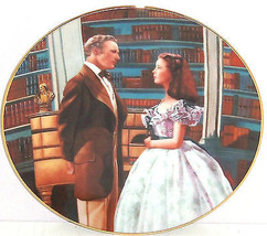 Gone with the Wind Collectors Plate Declaration of Love Bradford Exchang... - $49.95